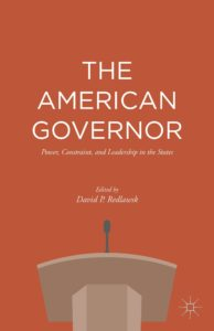 "book cover for ""The American Governor""."
